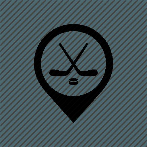 Hockey map icon